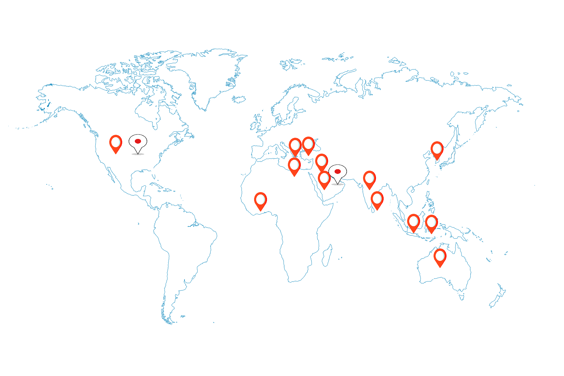 Our <span><strong>Global Footprint</strong></span>